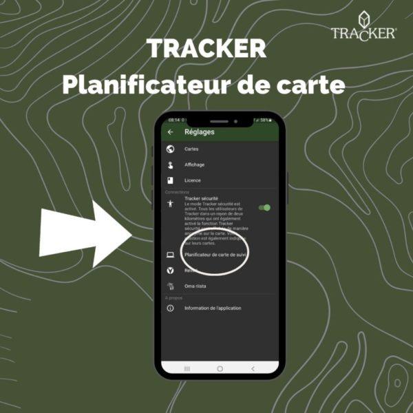 Planificateur de cartes Tracker